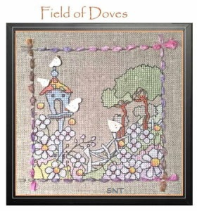 field of doves